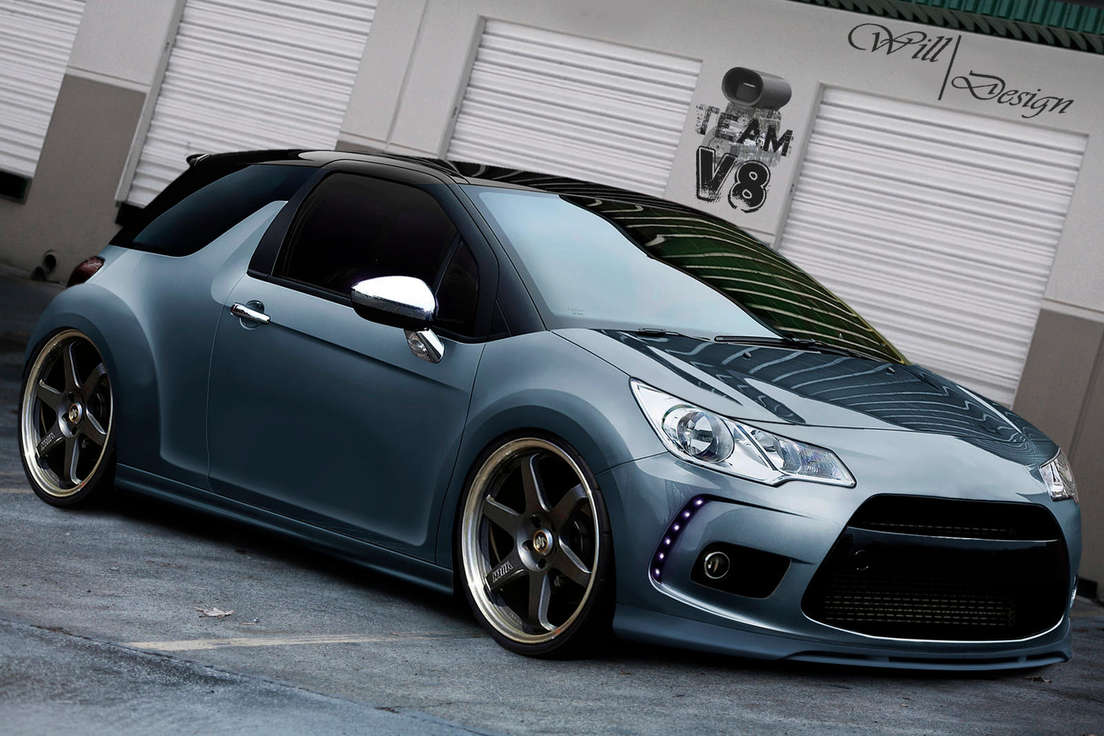 citroen ds3 by willcardesign on deviantart