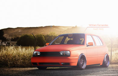 Golf MK3 Orange Matte