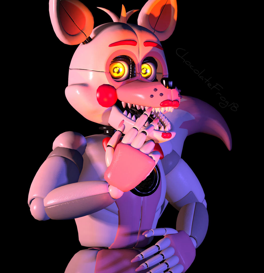 [FNAF SFM] Funtime Foxy By ChocolateFrog18 On DeviantArt