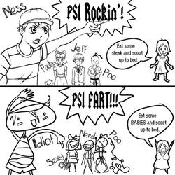 EarthBound Naming by mkkmypet