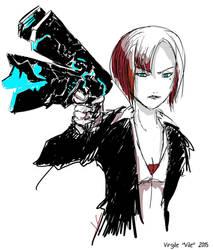 Aoyanagi sketch by SonicSNAKE