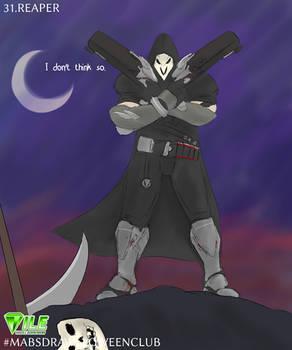 Reaper - Inktober2020 #MABSDRAWLLOWEENCLUB