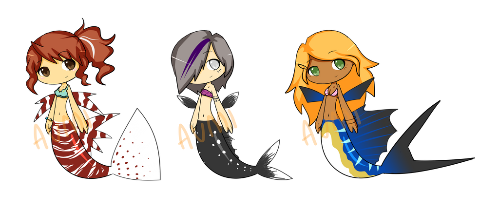 SW Fish Adopts -CLOSED- by Aumiesque