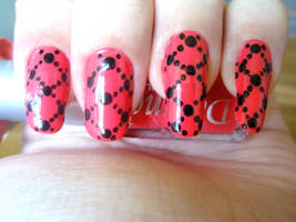 Red nails by NnNiLe