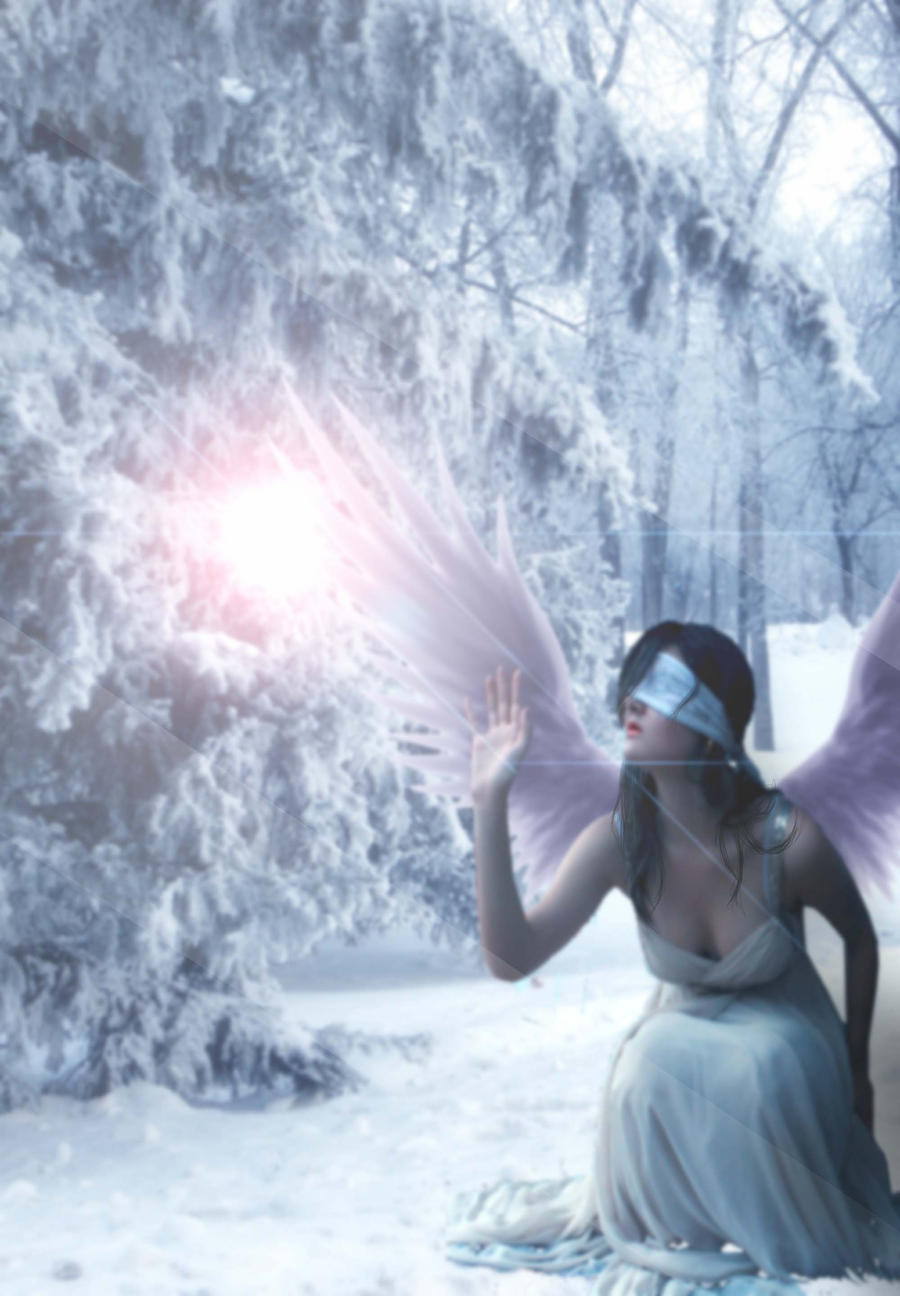 Ice Angel by olLorrayn...