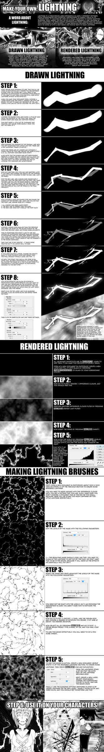 TOW-2: Lightning Tutorial by verticalfish