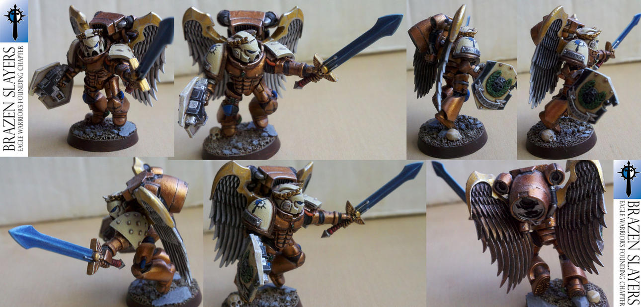 Warhammer 40k Space Marines Ultra and DIY chapters by jwave001