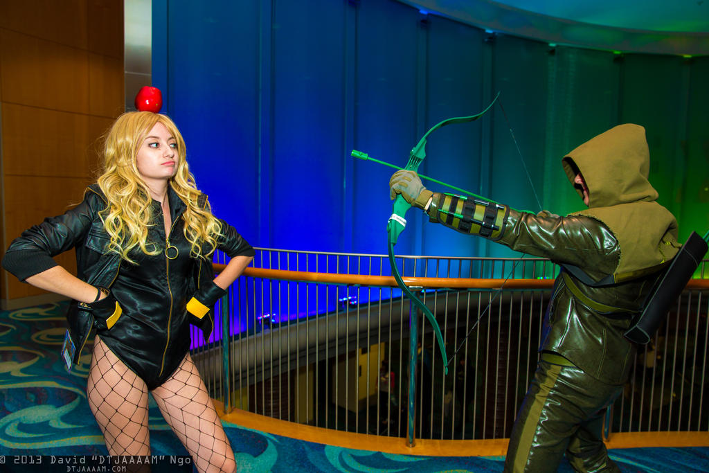cosplay Green black canary arrow and