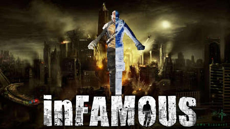 infamous ps3 wallpaper images
