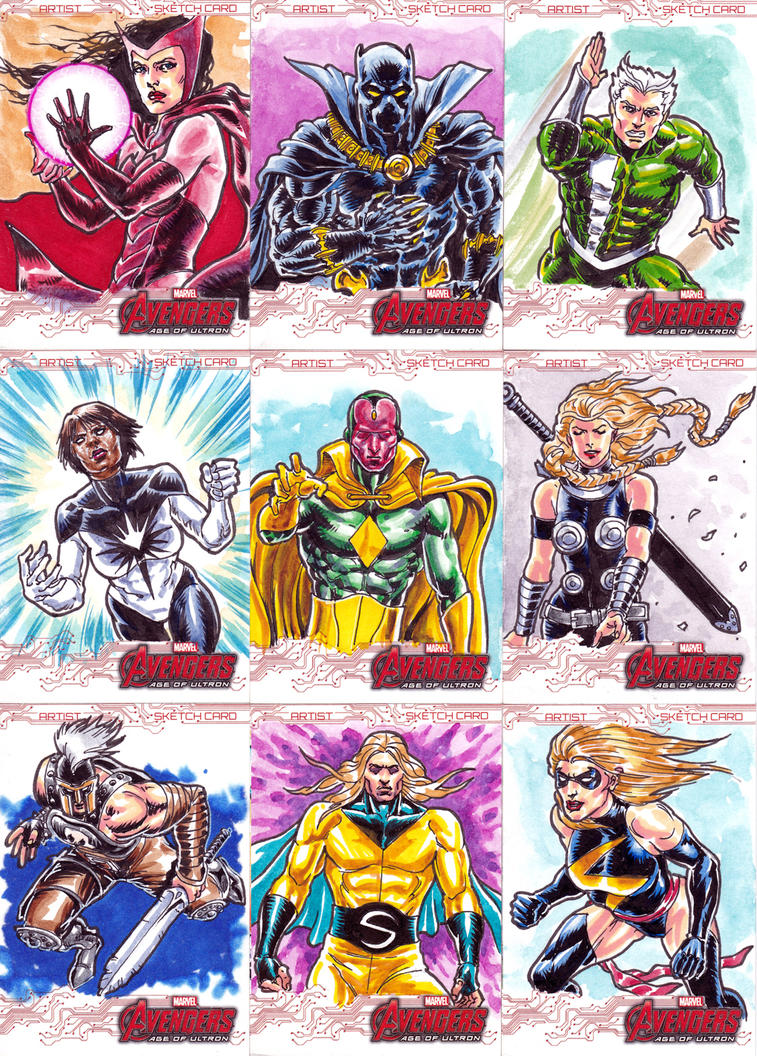 Avengers Age Of Ultron By Iloegbunam On Deviantart: UD Avengers Age Of Ultron By Humawinghangin On DeviantArt