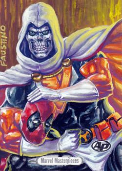 Marvel Masterpieces Taskmaster commission