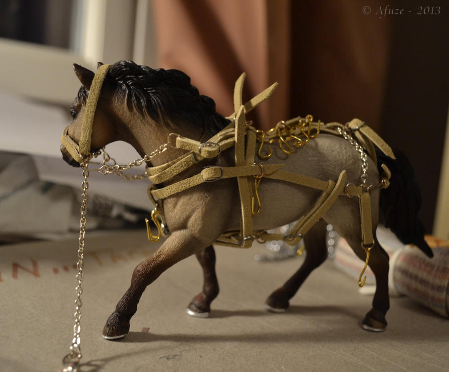 Harness for pack horse by Afuze on DeviantArt