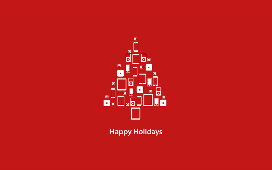 Apple Christmas Tree by IanBauters on DeviantArt
