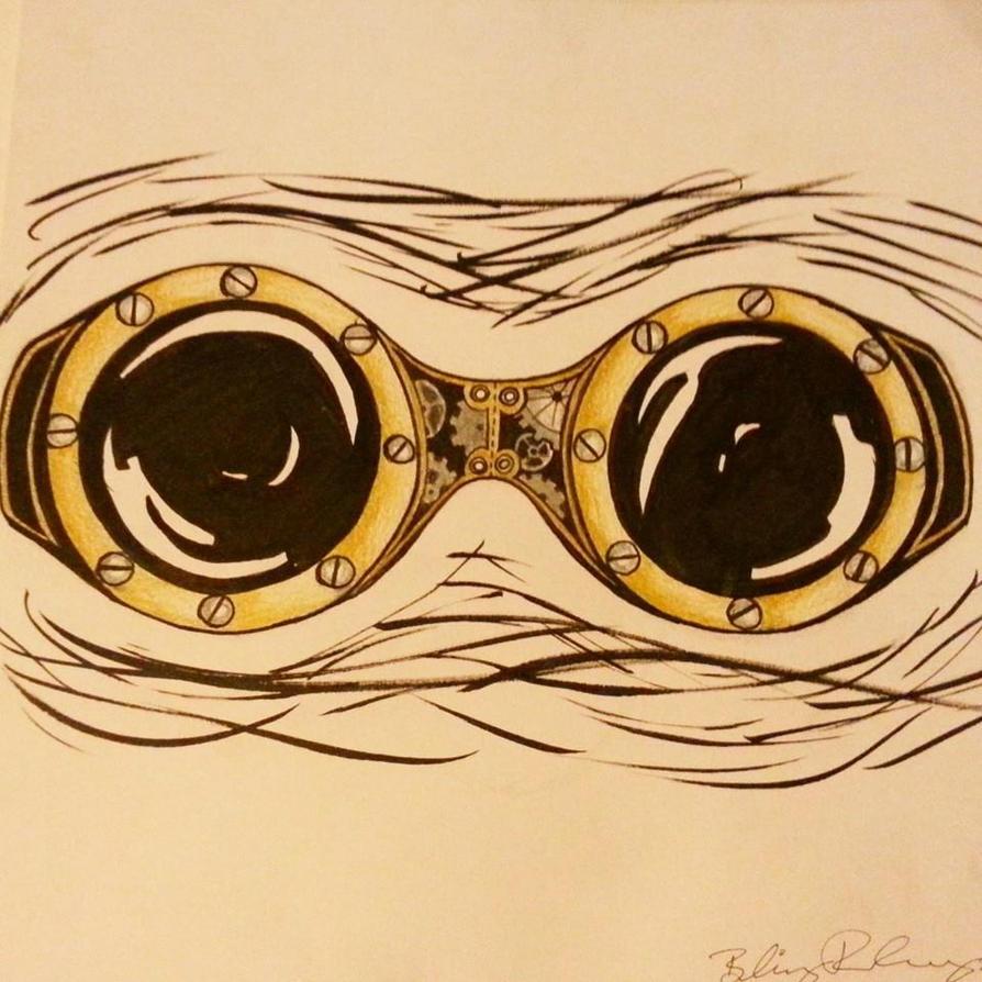 steampunk goggles by BritneyRobinson on DeviantArt