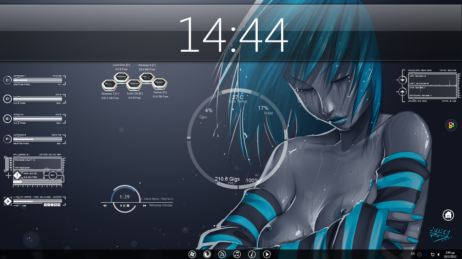 Futuristic Desktop by haro0koc on DeviantArt