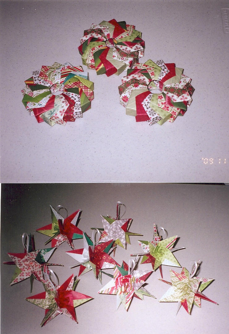 xmas wreaths and ornaments by hartmic3 on deviantart
