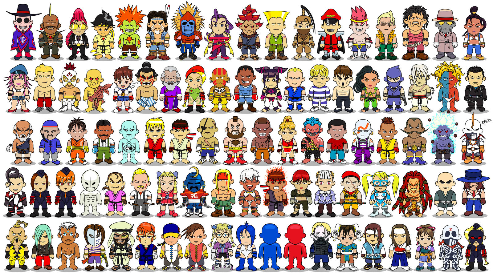 Original Street Fighter Characters Names | www.pixshark ...