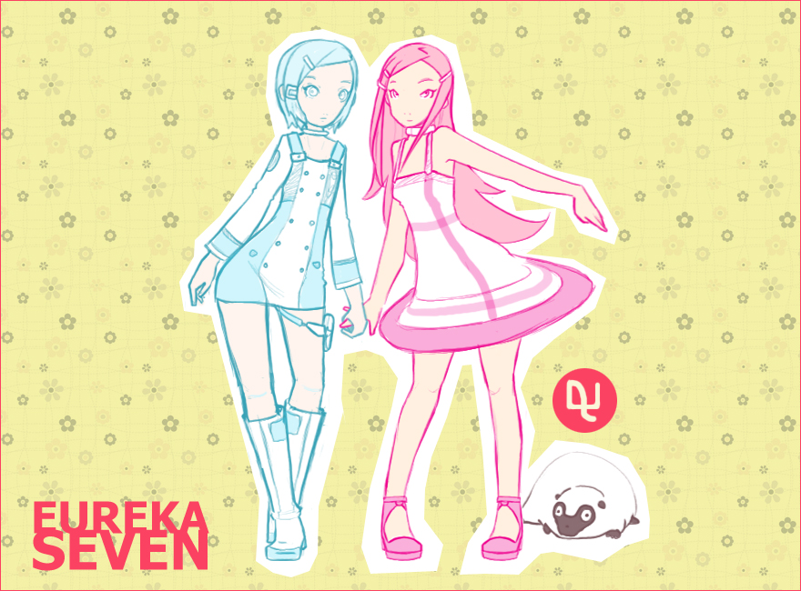 Eureka n Anemone by pinkx2