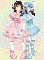 COM: Kini and Rayne by pinkx2