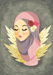 Roses and Feathers by moonhmz