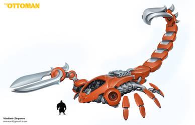 The Ottoman Red Scorpion