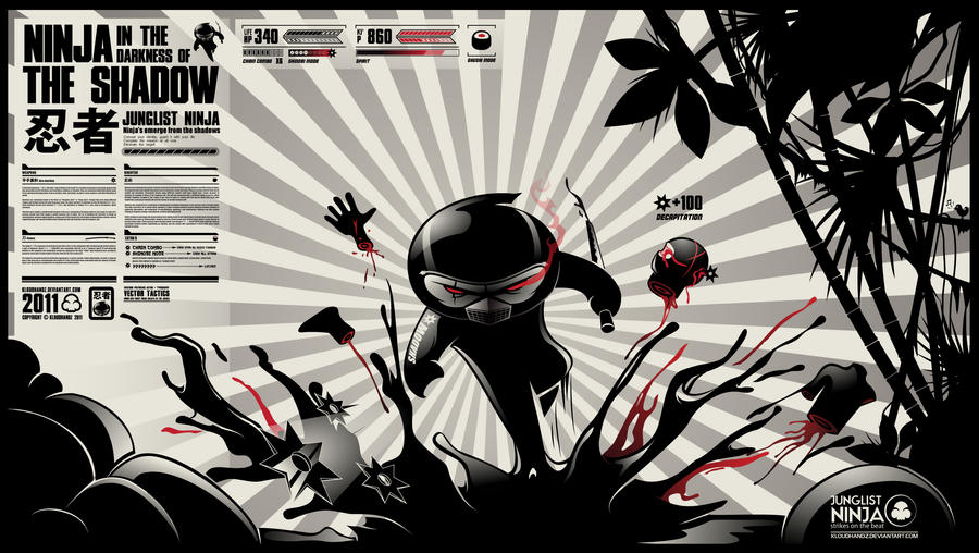 Junglist Ninja by Kloudhandz