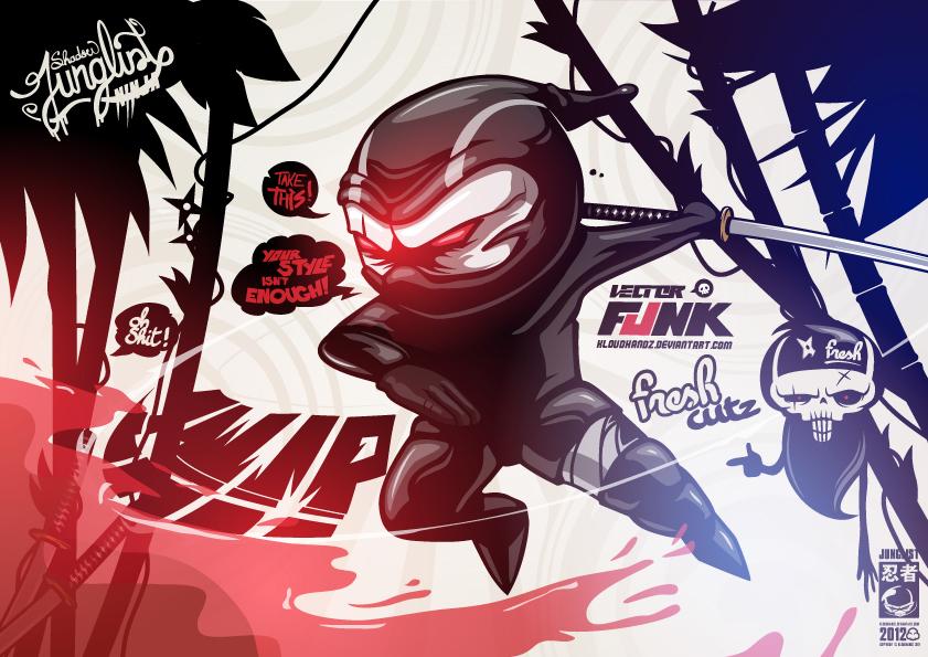 Fresh (ninja) Cutz by Kloudhandz