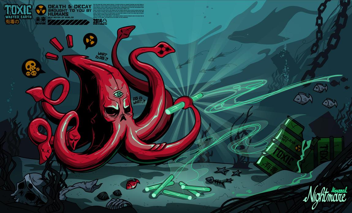 Abyssal Nightmare by Kloudhandz