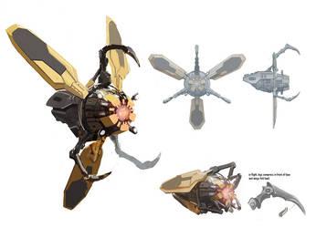 Iron Man 2 AIM Wasp