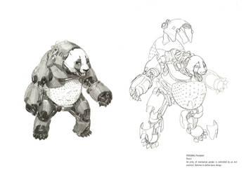 Pandabot sketches