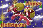 Happy Christmas Holidays! -NaruSaku Style-