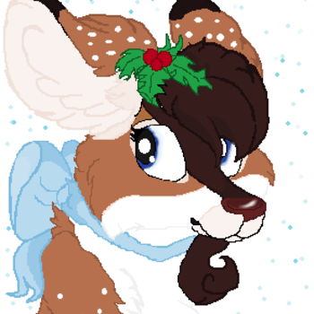 Christmas my deery :3 by brightiloveyheartz