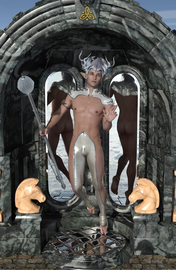 Mirror, Mirror: Andvir by FyraNuanser