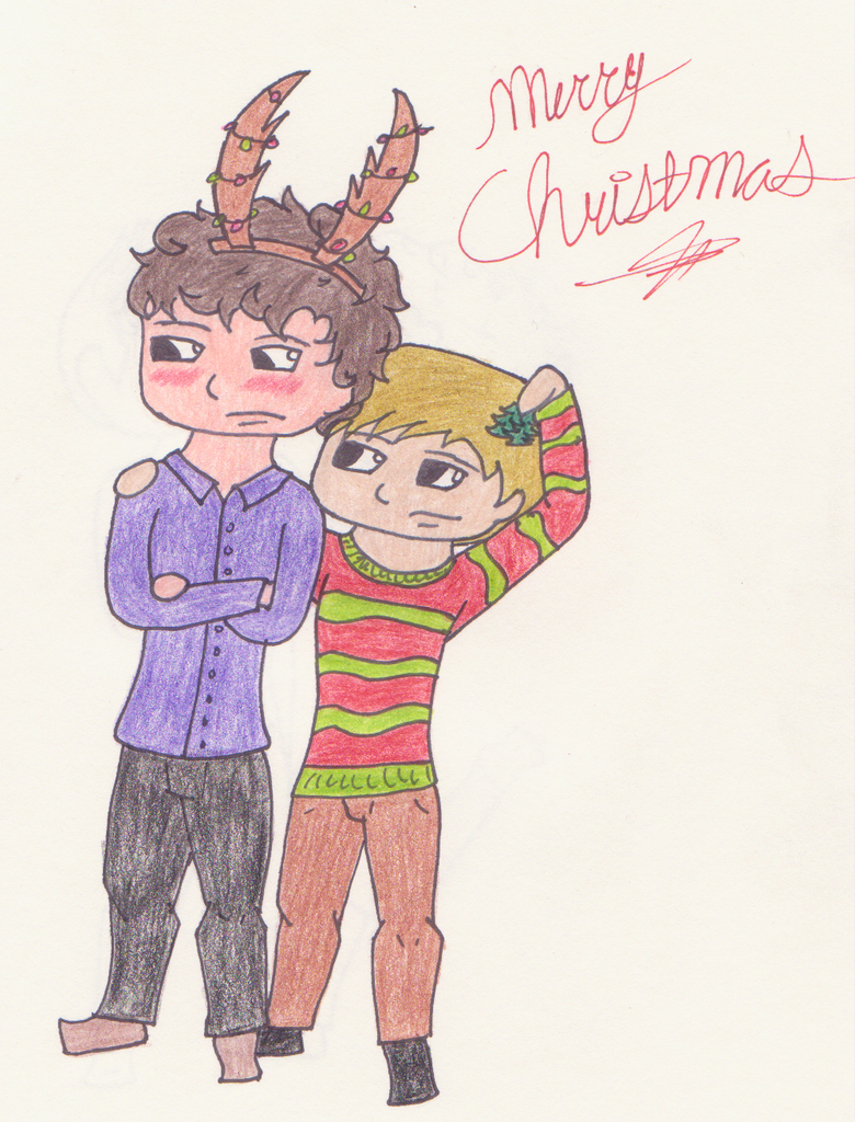 Merry Christmas from 221B by tay-bear