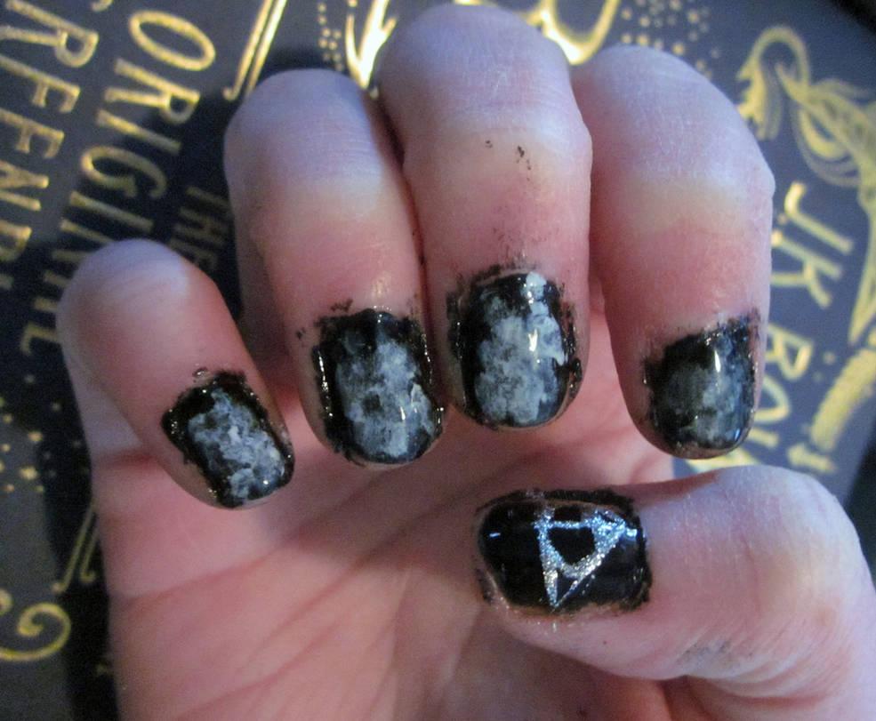 Fantastic Beasts Credence Nail Art by tay-bear on DeviantArt