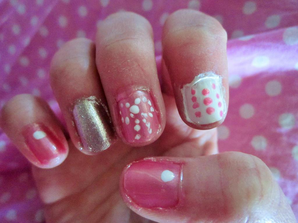 Pretty In Pink Nail Art By Tay Bear On Deviantart