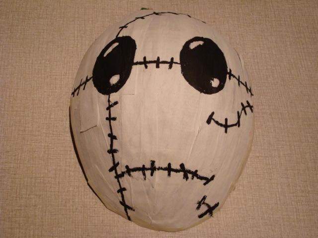 Sad Doll Mask by Sunnybrook1
