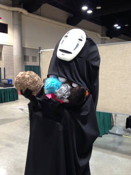 No Face + Tribbles = ?!