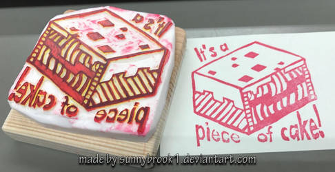 MC Stamp - It's a piece of cake!
