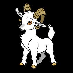 Cute Goat - Simple Color