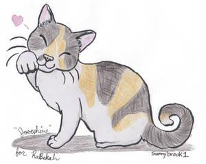 A Lucky Cat - Josephine