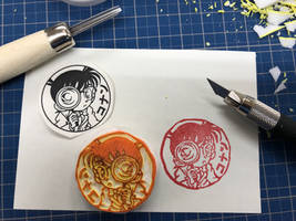 Detective Conan Stamp