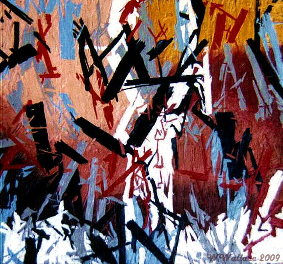 ACRYLIC ABSTRACT by Jellaboom