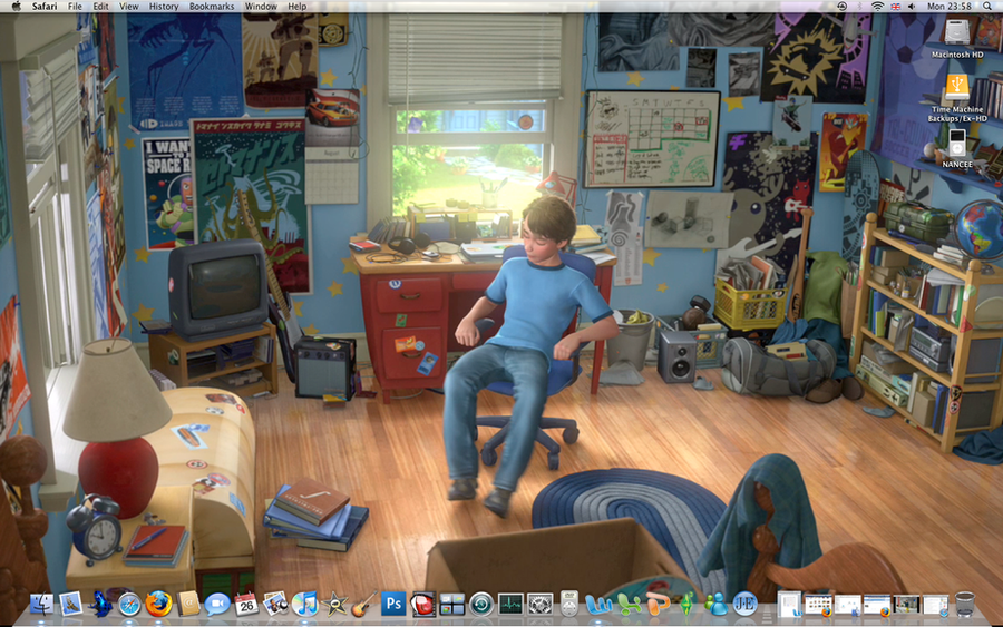 Andy's Room - Toy Story 3 by shiningnight567 on DeviantArt