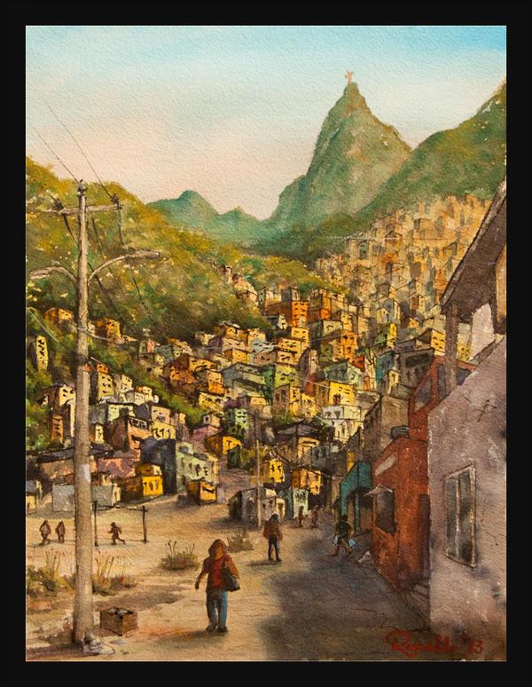 Favela Carioca by Rssfim