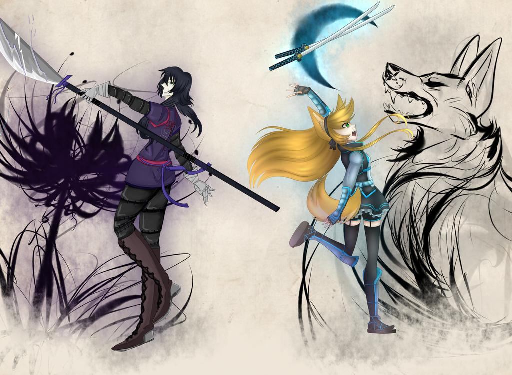 .: Kage to Hikari :. by Sofia-Moonwolf