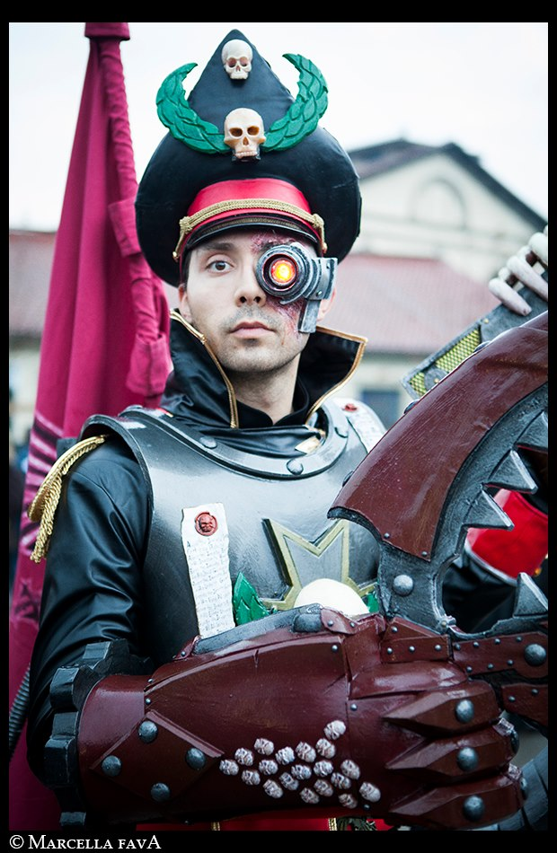 Lord Commissar Yarrick - The Savior of Armageddon