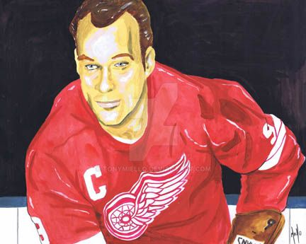 Mr. Hockey by TonyMiello