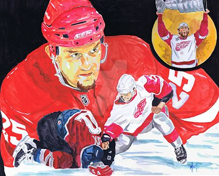 Darren McCarty by TonyMiello