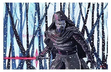 Kylo Ren by TonyMiello